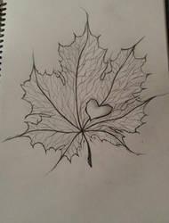 maple leaf by ValiantVivica