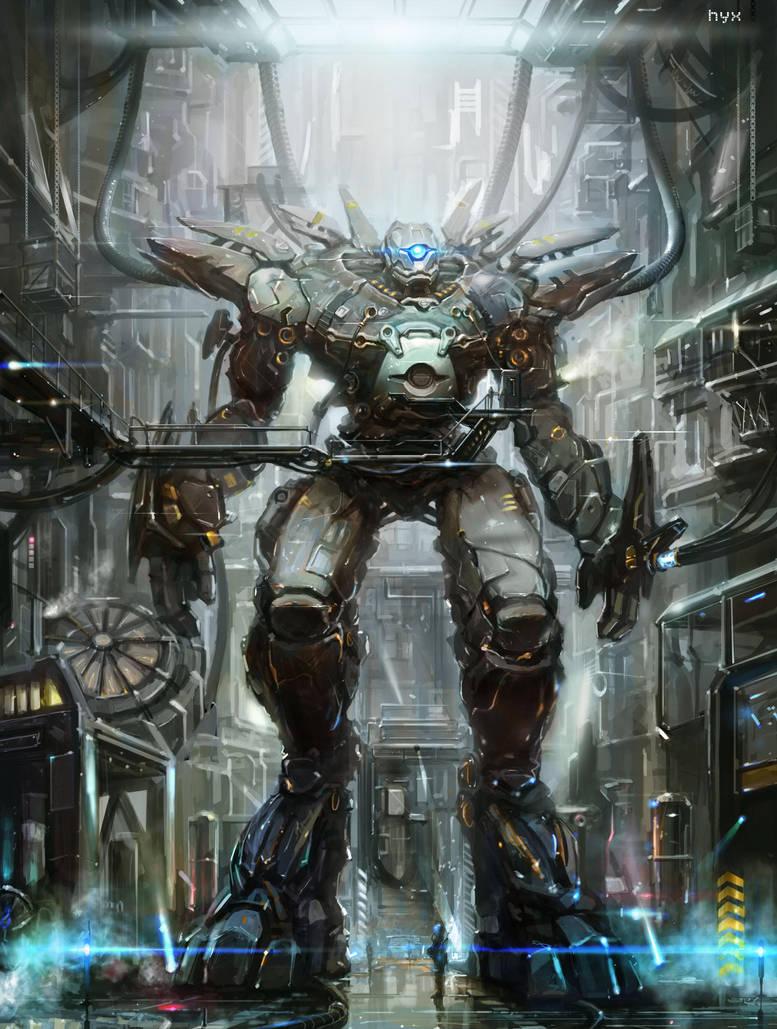 robot by heyixin0122