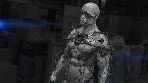 Exoskeleton Nano Suit by heyixin0122