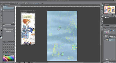 Ms. Frizzle: Magic School Bus Ice Fabric - WIP by LadyJewel