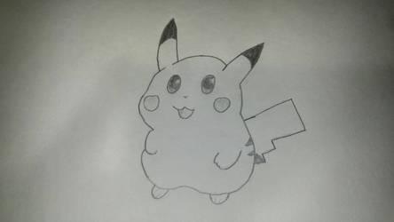 Pikachu by GanonGuy0