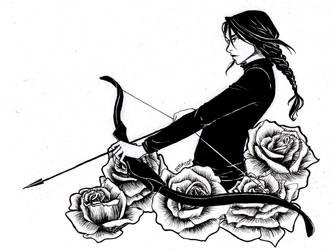 Katniss by RiTTa1310