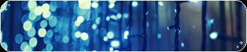 f2u blue fairy lights divider by fishystamps