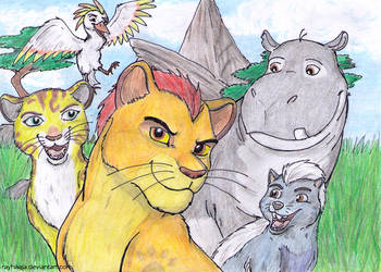 The Lion Guard by Rayhaaja