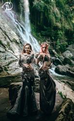 Jungle's Bellydancers by Nefru-Merit