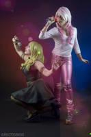 JEM VS PIZZAZZ! by Neferet-Cosplay