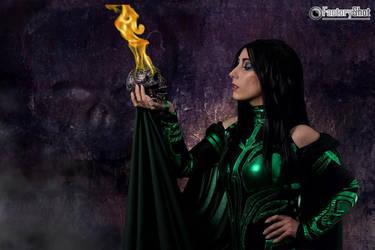 Hela - Thor: Ragnarok by Neferet-Cosplay