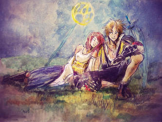 Final Fantasy 10 by Asaiba