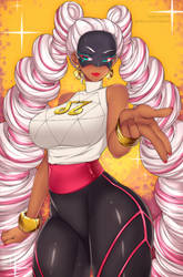 Twintelle (ARMS) by LindaRoze
