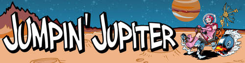Jumpin' Jupiter Bumper Sticker by poopDC