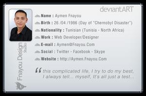 Aymen Fnayou DeviantID by Fnayou