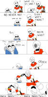 Undertale : Brother why by YueJo
