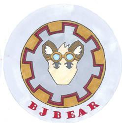 BJ Bear Conbadge by whaletrainer2002