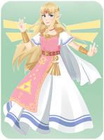 Princess Zelda by TheChildrenReason