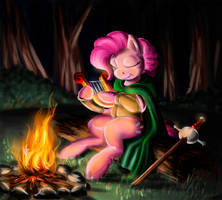 Pinkie Bard by DrizztHunter