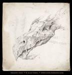Dragon Head by DuirwaighStudios