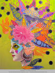 Figment - Mixed Media by DuirwaighStudios
