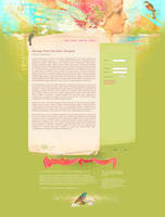 Message from the Muse - Web Template by DuirwaighStudios