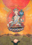 Tara Meditation by DuirwaighStudios