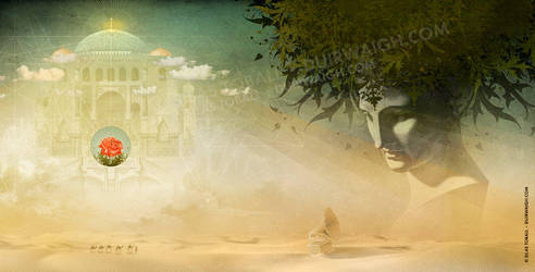 Desolation Rose - Gatefold Illustration by DuirwaighStudios