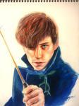 Newt Scamander by AliceLim