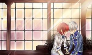 Akagami no Shirayukihime: Shirayuki And Zen by ruchib711