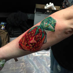 Strawberry Candy Tattoo by Pony Lawson by PonyLawson
