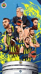 Fenerbahce Ulker - Poster by ManiaGraphic