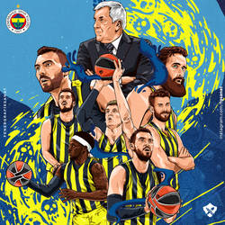 Fenerbahce Ulker - Poster [Square] by ManiaGraphic
