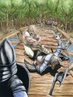 Battle of Stamford Bridge by GeorgeLiquor