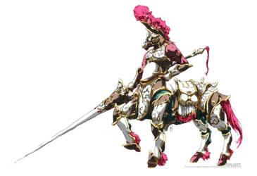 HORSE WARRIOR by UCHIDER