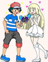 Aureliashipping Parents by PokemonMastermind