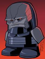 Darkseid by KidNotorious by Jukkart