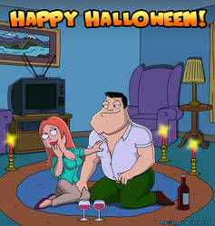 Halloween: Francine and Stan by Jukkart