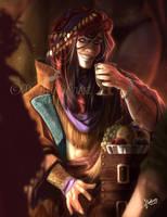 Merchant_ Original Character by MartinaSaviane