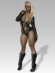 Night Fox - Aisha Walker 2 by 0WickedRaven0