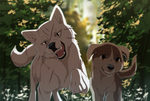 Kyoshiro and Teru by azzai
