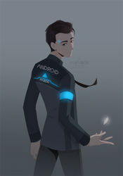 fanart | Connor by azzai
