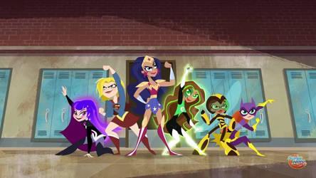 Super sentai Girls by alvaxerox