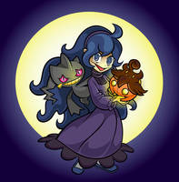 She Loves The Spooky Ones by XnotEX