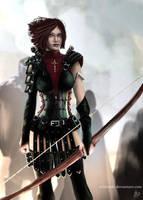 Dragon Age: Leliana by Artshardz