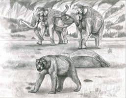 Prehistoric Safari : The Hybrid Mammoth by Jagroar