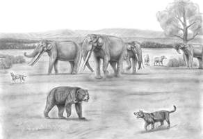 Prehistoric Safari:The late Miocene Eastern Africa by Jagroar
