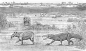 Prehistoric Safari : Super crocodilians' heaven 2 by Jagroar