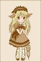 Chibi Sweet Lolita by Kikkinaa