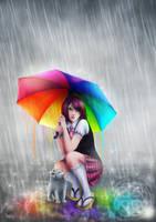 Rainbow by Morrigan-LE