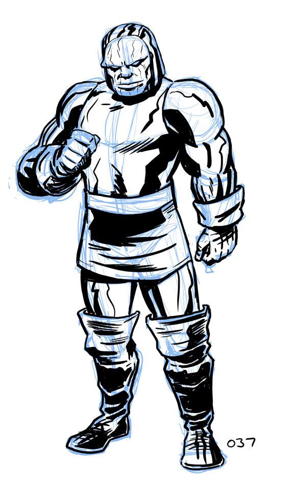 Darkseid by dennisculver