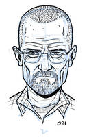 Walter White from Breaking Bad by dennisculver