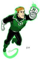 Green Lantern, Guy Gardner by dennisculver