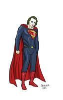 Man of Steel Joker for Moviefone by dennisculver